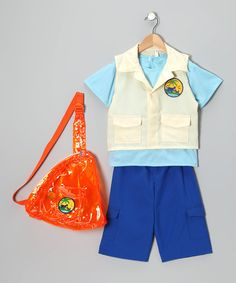 Take a look at this Deluxe Diego Dress-Up Outfit - Toddler & Kids by Go, Diego, Go! on #zulily today!