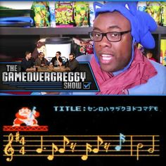 I make a guest appearance on The @GameOverGreggy Show! Can the @KindaFunnyVids guys guess NES music? #KindaFunny #Nintendo #NES by blacknerd