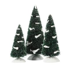 """Heavy Snowed Pines    Size: 4"""", 5"""", 6""""  Collector Notes:  Introduced December, 2009  Retired December 2011    Your Price: $20.00  On sale: $17.00"""