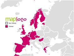 European Countries I've Been To