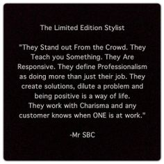 The Limited Edition Stylist