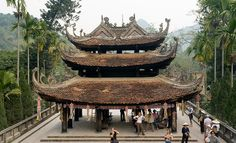 Thien Tru Pagoda -its character is very typical of #Vietnamese #pagoda with triple-roofed bell pavilion. It also honors Quan Am, #Goddess of #Mercy. Thien Tru Pagoda