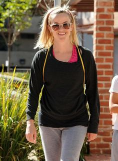 Reese Witherspoon on April 6, 2014 in Brentwood, California.