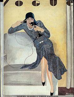 Vogue Magazine Cover Archive (Vogue.com UK) 1929.