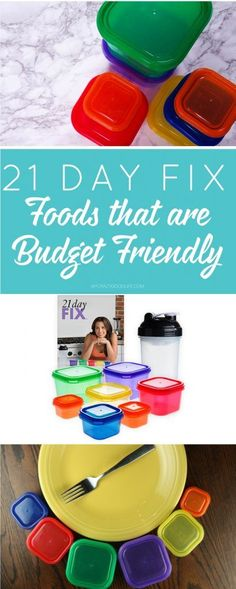 21 Day Fix Foods aren't expensive! Check out this list of budget friendly options that help you get healthy while staying within your budget!