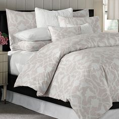 Barbara Barry® Poetical Duvet Cover in Pink Blush