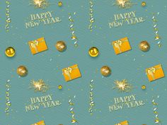 Happy New Year Pattern Background Christmas Present Boxes, Christmas Night, Christmas Gift Wrapping, Gift Wrapping Paper, Christmas Cards, New Year's Eve Background, Christmas Background, New Year Text Messages, Happy New Year Text