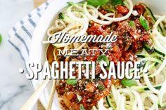 Homemade Meaty Spagh