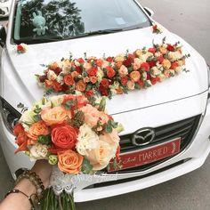 wedding bouquet, hoa cầm tay cô dâu, vintage, vietnam, wedding flower, hoa xe, car decor