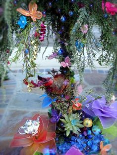Giant 42 Lighted Magical Fairy Tree Centerpiece by LaDeeDah2 ~ If I had a daughter!
