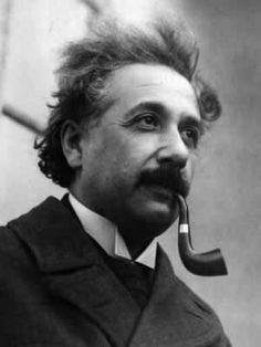 """I believe that pipe smoking contributes to a somewhat calm and objective judgment in all human affairs."" – Albert Einstein 1950"