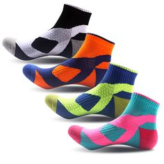 Circle-seamless Unisex Funny Casual Crew Socks Athletic Socks For Boys Girls Kids Teenagers
