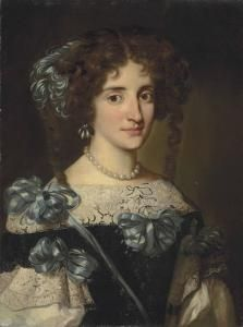 Portrait of Maria Virginia Borghese Chigi- Jacob Ferdinand Voet 17th Century Fashion, 17th Century Art, Historical Art, Historical Costume, Ludwig Xiv, Baroque Fashion, Ferdinand, Woman Painting, Portrait Art