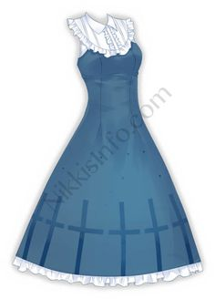 Discover recipes, home ideas, style inspiration and other ideas to try. Drawing Anime Clothes, Manga Clothes, Dress Drawing, Anime Outfits, Girl Outfits, Pretty Outfits, Beautiful Outfits, Anime Dress, Dress Sketches
