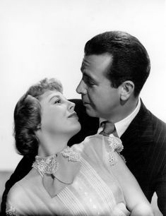 June Allyson, with the love of her life, husband Dick Powell.