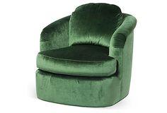 Ethel Swivel Chair on OneKingsLane.com