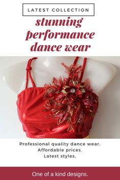 Performance dance wear, stage costumes. Stunning styles, affordable prices.