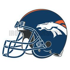Custom or design Denver Broncos logo Iron On Decals Stickers(Heat Transfers) for your favorite NFL Team jerseys.
