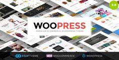 WooPress v2.9.2 – Responsive Ecommerce WordPress Theme