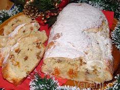 Příprava vánoční štoly je rychlá a opravdu jednoduchá, zvládnou ji i začátečníci. Chutná po másle a po kokosu a nádherně při pečení provoní váš byt. Easter Recipes, Camembert Cheese, Sweet Tooth, Dairy, Pizza, Bread, Cooking, Christmas, Food