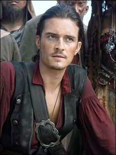 *WILL TURNER (Orlando Bloom) ~ PIRATES of the CARIBBEAN: