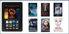 Kindle Fire #Giveaway + #Free Science Fiction/Fantasy Books