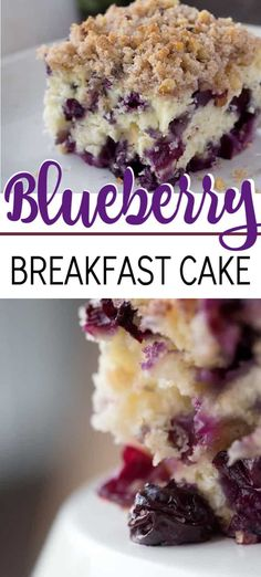 Blueberry breakfast cake, coffee cake, whatever you want to call it, it's overflowing with blueberries and absolutely delicious. #blueberrycake #blueberrycoffeecake #blueberrybuckle #blueberrydessert #blueberries #coffeecake #coffeecakerecipes #breakfastcake #recipesforblueberries