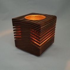 """Still time to order for Valentine's Day. In-stock single candle """"Glowing Candle Holders"""" are on sale off! Wooden Candle Holders, Candle Jars, Candleholders, Candle Craft, Candlestick Holders, Candlesticks, Tea Light Candles, Tea Lights, Wood Projects"""