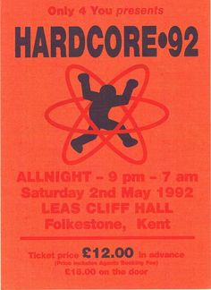 HARDCORE 92 Rave Fly