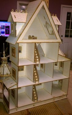 Ashley Gothic Victorian Dollhouse Interior 2 This but big enough to fit monster high dolls
