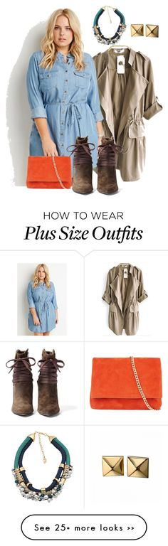"""plus size fall/pretty girl chic"" by kristie-payne on Polyvore featuring Forever 21, IRO, Chicnova Fashion, Karen Millen and Waterford"