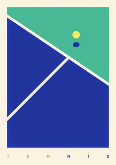 網球場的路上。toward the tennis court: 網球與插畫 - Tennis x illustration: Sports by Gabriel N...