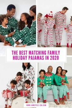The Best Matching Family Holiday Pajamas in 2020