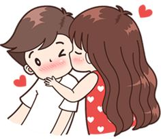This love for you, send your love to your couple. Cute Chibi Couple, Love Cartoon Couple, Cute Love Cartoons, Cute Love Couple, Anime Love Couple, Cute Anime Couples, Cute Love Pictures, Cute Cartoon Pictures, Cute Love Gif