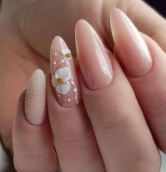 64 Chic Natural Almond Acrylic Nails Shape Design You Won't Resist This Spring & Summer - light pink short almond nails design, Acrylic Short almond nails, Natural almond nails design acryl - Acrylic Nail Shapes, Square Acrylic Nails, Almond Acrylic Nails, Summer Acrylic Nails, Cute Acrylic Nails, Acrylic Nail Designs, Spring Nails, Light Pink Nail Designs, Almond Nails Designs Summer