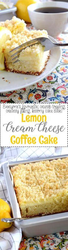 Lemon Cream Cheese Coffee Cake - Lord Byron's Kitchen