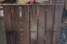 Reclaimed pallet projects are a great way to get into woodworking and  making for two reasons 9d17c0058d6d