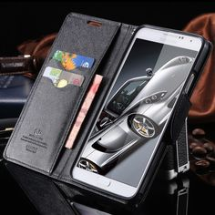 Luxury Flip Leather Stand Cover For Samsung Galaxy Note 3 N9000 Note 5 //Price: $11.99 & FREE Shipping //     #shop