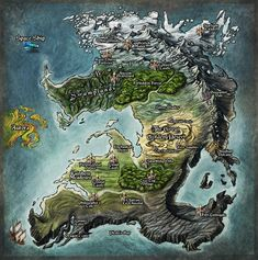 Princess Map by Djekspek on deviantART
