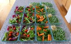 How to prepare a week of healthy meals.....a good read