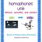 This is a homophones unit that includes many lessons, whole group activities, centers, sorts, a poster, and writing activity for students. The less...