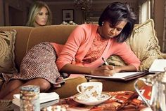 When it's late and you have a term paper due in a few minutes... Mrs. Trump's speech | AfricanAmerica.org