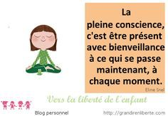 Meditation de pleine conscience. http://grandirenliberte.com/la-meditation-de-pleine-conscience/