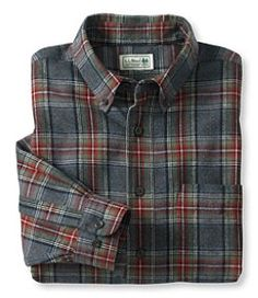 #LLBean: Scotch Plaid Flannel Shirt, Slightly Fitted