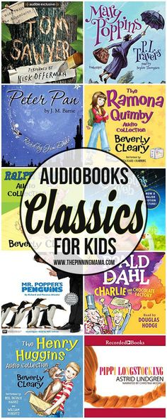 30 Classic Audio Books For Kids The Pinning Mama - Kids Audio Books - ideas of Kids Audio Books - Best Classic Audiobooks for Kids sponsored by Audible High Protein Snacks, Toddler Books, Childrens Books, Diy Crafts For Kids, Projects For Kids, Best Audible Books, Power Foods, Audio Books For Kids, Kid Books