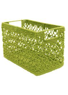 Modé Crochet Wire Frame Basket | Heritage Lace