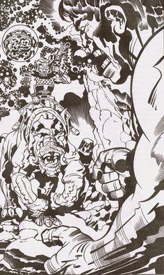 Cap'n's Comics: Interstellar Hulk by Jack Kirby