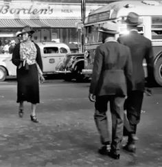 An archival photo of the corner of 8th Ave and 125th Street circa 1955 via H A R L E M + B E S P O K E