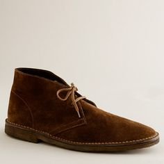 J.Crew - Classic MacAlister boots in suede. I have a pair of these and they are my favorite!