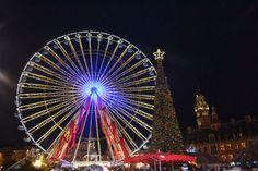 La grande roue du marché de Noël de Lille 2013.